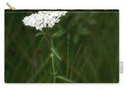 Alpine Yarrow Wildflower 2 Carry-all Pouch