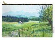 Alps From Geneva Switzerland 2016 Carry-all Pouch