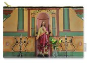 Altar Detail Of San Juan Bautista Mission Carry-all Pouch