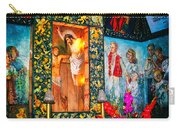 Altar Painted By Famous John Walach Carry-all Pouch