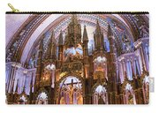 Alter Inside Basilica Of Notre Dame, Montreal, Quebec, Canada. Carry-all Pouch