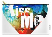 Always Kiss Me Goodnight 6 - Valentine's Day Carry-all Pouch