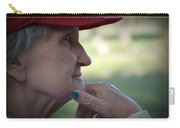 Alzheimer's The Aging Of A Lady Carry-all Pouch