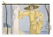 Amalfi Carry-all Pouch by Georges Barbier