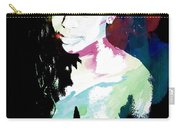 Amani African American Nude Fine Art Painting Print 4966.03 Carry-all Pouch