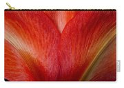 Amaryllis Flower Petals Carry-all Pouch