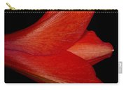 Amaryllis Flower Sideways Carry-all Pouch