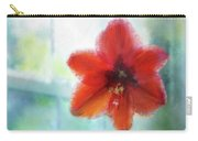 Amaryllis Window Carry-all Pouch