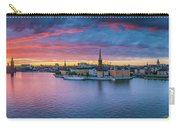 Dramatic Sunset Over Stockholm Carry-all Pouch