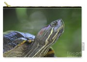 Amazing Close-up Painted Turtle Resting Carry-all Pouch