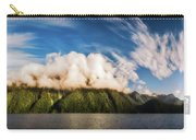 Amazing Cloud Formation At Lake Manapouri In New Zealand Carry-all Pouch