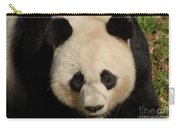 Amazing Face Of A Beautiful Giant Panda Bear Carry-all Pouch