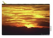 Amazing Fire In The Sky Carry-all Pouch