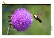 Amazing Insects - Hummingbird Moth Carry-all Pouch