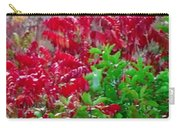 Amazing Nature Blessings Magic Colors Cherry Red Green Shrubs Plants Save  The Environment Carry-all Pouch