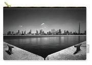 Amazing Panorama Reflection Of Dubai Jumeirah Beach, Dubai, United Arab Emirates Carry-all Pouch