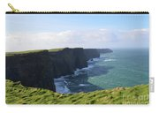 Amazing Scenic Views Of The Cliff's Of Moher Carry-all Pouch