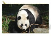 Amazing Sweet Chinese Giant Panda Bear Walking Around Carry-all Pouch