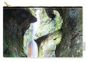 Amazing Vancouver Island Series - Sombrio Cave Waterfall  Inside  Closeup 2. Carry-all Pouch