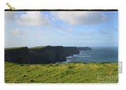 Amazing Views Of The Cliff's Of Moher In Ireland Carry-all Pouch