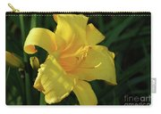 Amazing Yellow Lily Flowering In A Garden Carry-all Pouch
