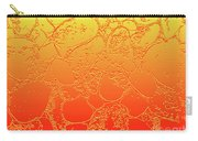 Amber Crackle Carry-all Pouch