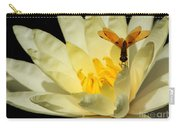 Amber Dragonfly Dancer Too Carry-all Pouch