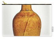 Amber-glazed Pottery Vase 2 Carry-all Pouch