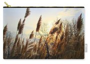 Amber Waves Of Pampas Grass Carry-all Pouch