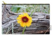 Amber Wheels Blanket Flower Carry-all Pouch