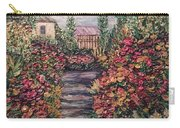 Amelia Park Garden Flowers Carry-all Pouch