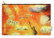 America At Sunset  Carry-all Pouch