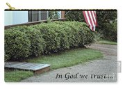 America - In God We Trust Carry-all Pouch