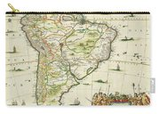 America Pars Meridionalis Carry-all Pouch
