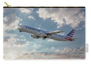 American Airlines A321-231 N917uy Carry-all Pouch