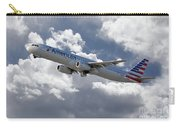 American Airlines Airbus A321 Carry-all Pouch