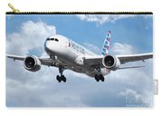 American Airlines Boeing 787 Dreamliner Carry-all Pouch