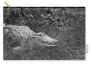 American Alligator 2 Bw Carry-all Pouch