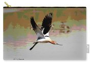 American Avocet Flying Carry-all Pouch