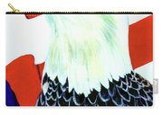 American Bald Eagle Painting #256 Carry-all Pouch