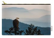 American Bald Eagle Sentinel Carry-all Pouch