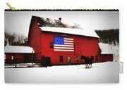 American Barn Carry-all Pouch by Bill Cannon