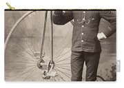 American Bicyclist, 1880s Carry-all Pouch