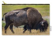 American Bison - Antelope Island - Utah Carry-all Pouch