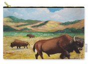 American Bison Carry-all Pouch