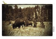 American Bison Vintage 2 Carry-all Pouch