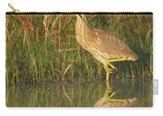 American Bittern Along The Shore Carry-all Pouch