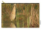 American Bittern Close To Shore Carry-all Pouch