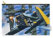 American Bombing Raid Over Europe In July 1943 Carry-all Pouch