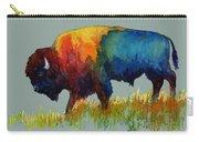 American Buffalo IIi Carry-all Pouch by Hailey E Herrera